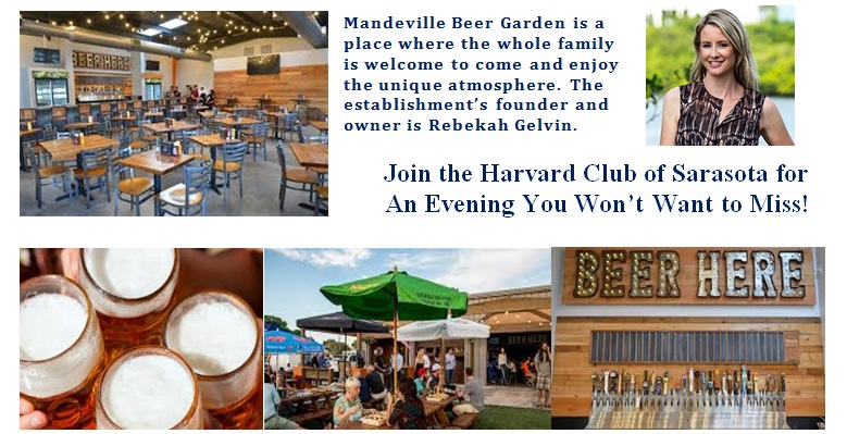 are you coming - Mandeville Beer Garden